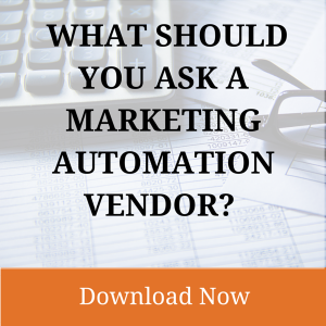Marketing Automation Software Feature Questions
