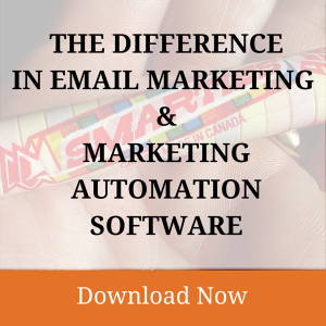 The Difference in Email Marketing and Marketing Automation Software