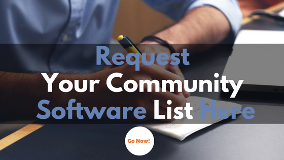 private online community software reviews